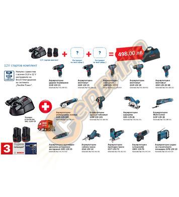 Акумулаторен комплект Bosch Pro-Mix - 12V/2.0Ah
