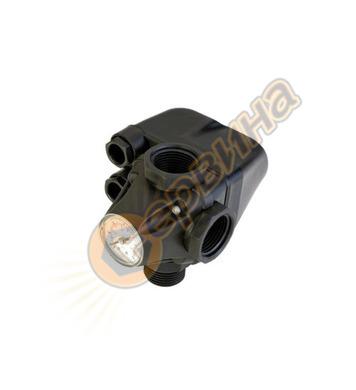 Механичен пресостат с манометър Malgorani PM/5 0-5bar 1