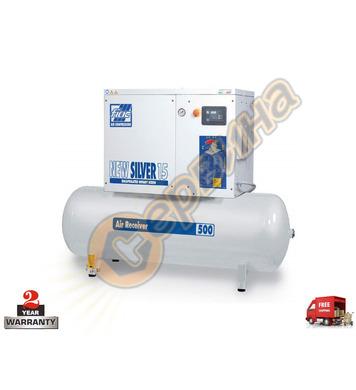Винтов трифазен компресор Fiac New Silver 15 1121680295 - 50