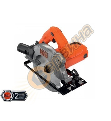 Ръчен циркуляр Black&Decker CS1250L - 1250W