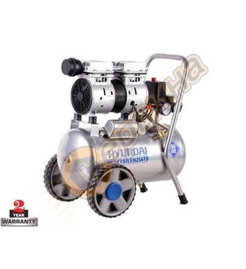 Маслен компресор Hyundai Hyac 24-2 12088 - 24л / 8бара