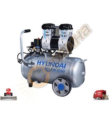 Маслен компресор Hyundai Hyac 50-2 12089 - 50л / 8бара