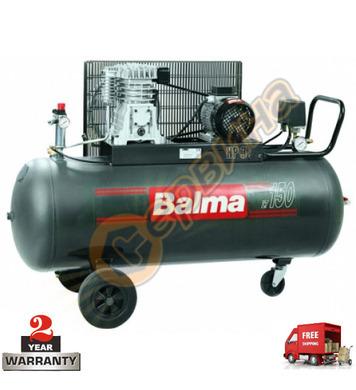 Трифазен маслен компресор Balma NS 11S/150 - 150л / 10бара