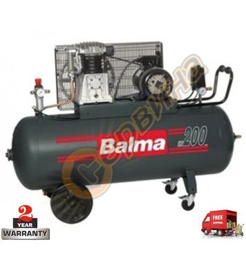 Трифазен маслен компресор Balma NS 18S/200 - 200л / 10бара