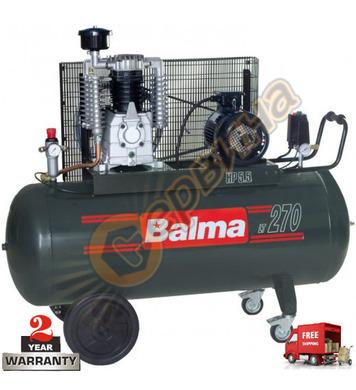 Трифазен маслен компресор Balma NS 39/270N - 270л / 11бара