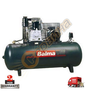 Трифазен маслен компресор Balma NS 59S/500 - 500л / 11бара