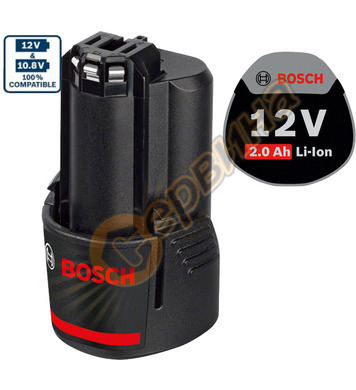 Акумулаторна батерия Bosch GBA 1607A35040 - 12V/2.0Ah Li-Ion