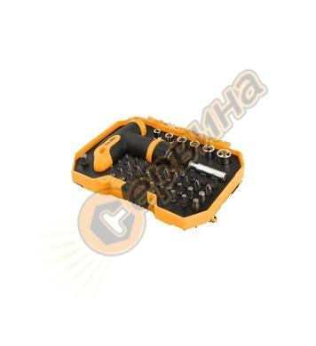 Комплект накрайници Т-ръкохватка Tolsen ER20036 - 41части