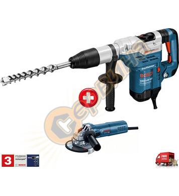 Комбиниран перфоратор Bosch GBH 5-40 DCE 0615990J9Z + Ъглошл