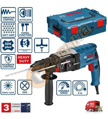 Комбиниран перфоратор Bosch GBH 2-28 F 0611267601 - 880W