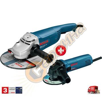 Ъглошлайф Bosch GWS 22-230 JH 0615990H1V + Ъглошлайф Bosch G