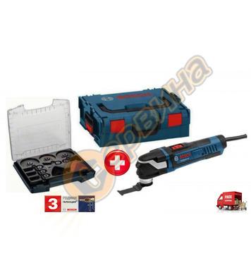 Мултифункционален инструмент Bosch GOP 40-30 0615990HS3 + 34