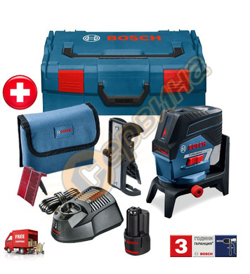 Линеен лазерен нивелир Bosch GCL 2-50 C 06159940KH - 20м
