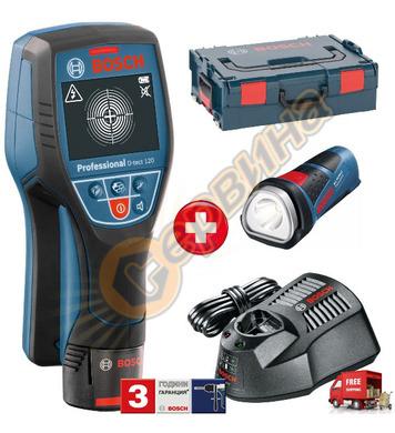 Детектор - скенер за стени Bosch D-tect 120 06159940JW + Аку