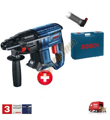 Акумулаторен перфоратор Bosch GBH 180-LI 0611911024 + Прахоу