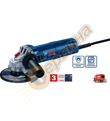 Ъглошлайф Bosch GWS 9-125 0601396007 - 900 W
