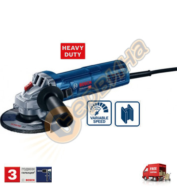 Ъглошлайф Bosch GWS 9-115 S Blue force 0601396101 - 900 W