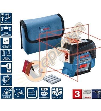 Линеен лазерен нивелир Bosch GLL 3-80 C 0601063R00 - 30м