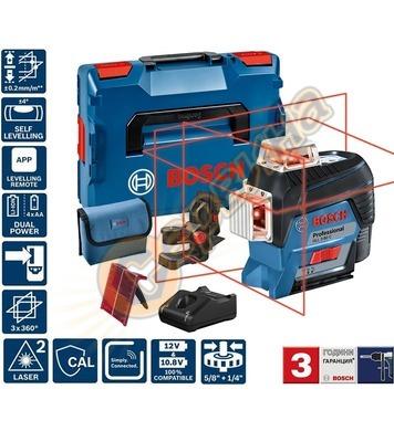 Линеен лазерен нивелир Bosch GLL 3-80 C 0601063R02 - 30м