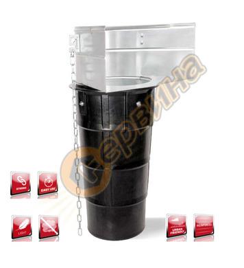 Улей с изход за насипни материали Rubi 88811 - 150 см