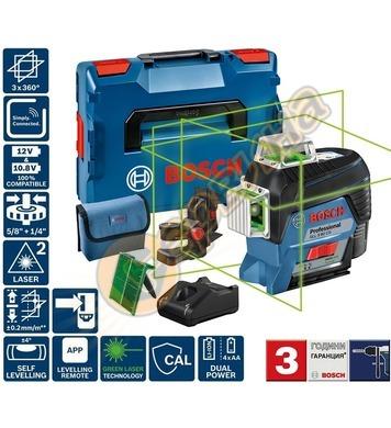Линеен лазерен нивелир Bosch GLL 3-80 CG 0601063T00 - 30м
