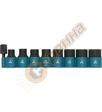 Комплект ударни вложки 1/2 Makita B-54645 - 9 бр