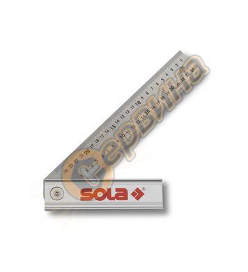 Шаблон тип ъгломер-сгъваем 250мм Sola Quattro 56017001
