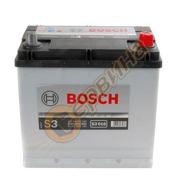 Стартерен акумулатор Bosch S3 JIS R+ 016 0092S30160 - 12V/45