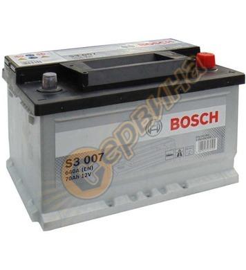 Стартерен акумулатор Bosch S3 007 0092S30070 - 12V/70Ah