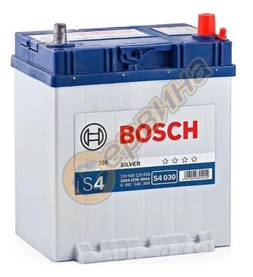 Стартерен акумулатор Bosch S4 030 JIS R+ 0092S40300 - 12V/40