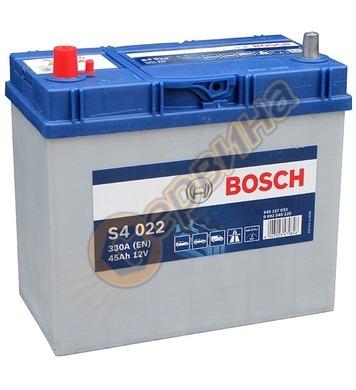 Стартерен акумулатор Bosch S4 022 JIS L+ 0092S40220 - 12V/45