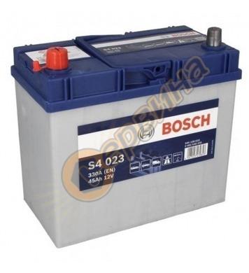 Стартерен акумулатор Bosch S4 023 JIS L+ 0092S40230 - 12V/45