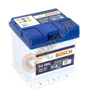 Стартерен акумулатор Bosch S4 000 0092S40001 - 12V/44Ah
