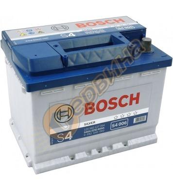 Стартерен акумулатор Bosch S4 006 L+ 0092S40060 - 12V/60Ah