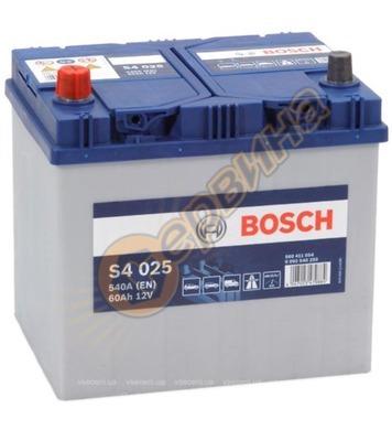 Стартерен акумулатор Bosch S4 025 Asia L+ 0092S40250 - 12V/6
