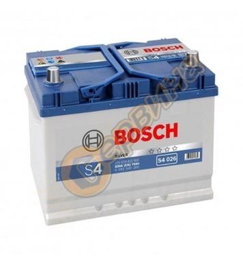 Стартерен акумулатор Bosch S4 026 Asia R+ 0092S40260 - 12V/7
