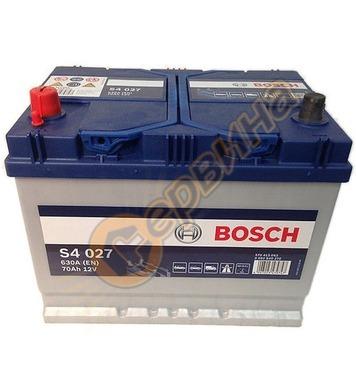 Стартерен акумулатор Bosch S4 027 Asia L+ 0092S40270 - 12V/7