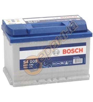 Стартерен акумулатор Bosch S4 009 L+ 0092S40090 - 12V/74Ah