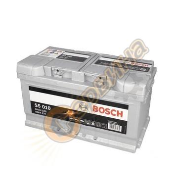 Стартерен акумулатор Bosch S5 010 0092S50100 - 12V/85Ah