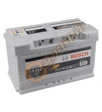 Стартерен акумулатор Bosch S5 011 0092S50110 - 12V/85Ah