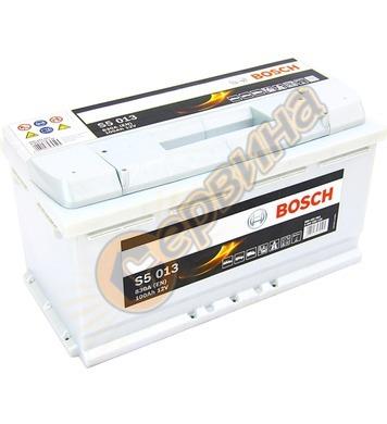 Стартерен акумулатор Bosch S5 013 0092S50130 - 12V/100Ah