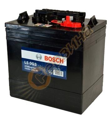 Стартерен полу-тягов акумулатор Bosch L5 0G3 0092L50G30 - 6V