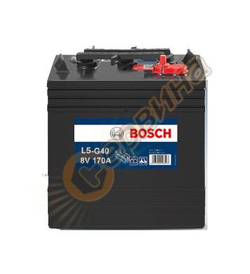 Стартерен полу-тягов акумулатор Bosch L5 0G4 0092L50G40 - 8V