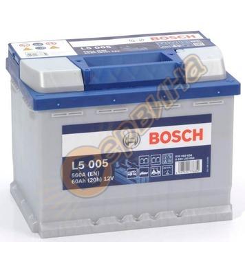 Стартерен полу-тягов акумулатор Bosch L5 005 0092L50050 - 12