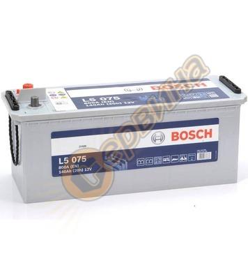 Стартерен полу-тягов акумулатор Bosch L5 075 0092L50750 - 12