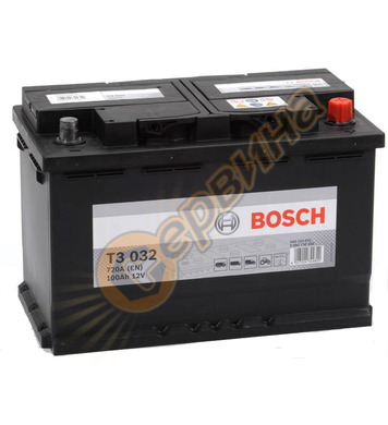 Стартерен акумулатор Bosch T3 032 0092T30320 - 12V/100Ah