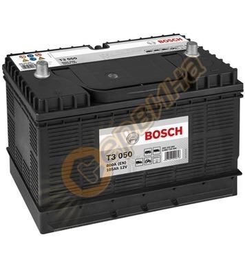 Стартерен акумулатор Bosch T3 050 0092T30500 - 12V/105Ah