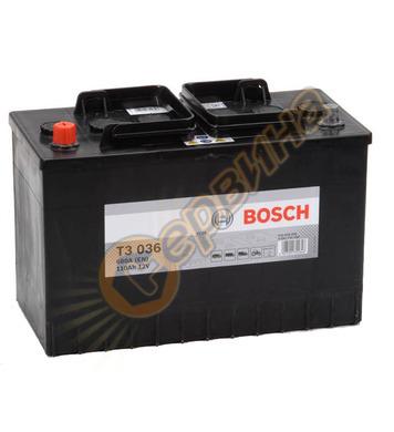 Стартерен акумулатор Bosch T3 036 0092T30360 - 12V/110Ah