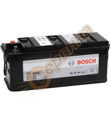 Стартерен акумулатор Bosch T3 045 0092T30450 - 12V/135Ah