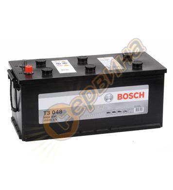 Стартерен акумулатор Bosch T3 048 0092T30480 - 12V/155Ah